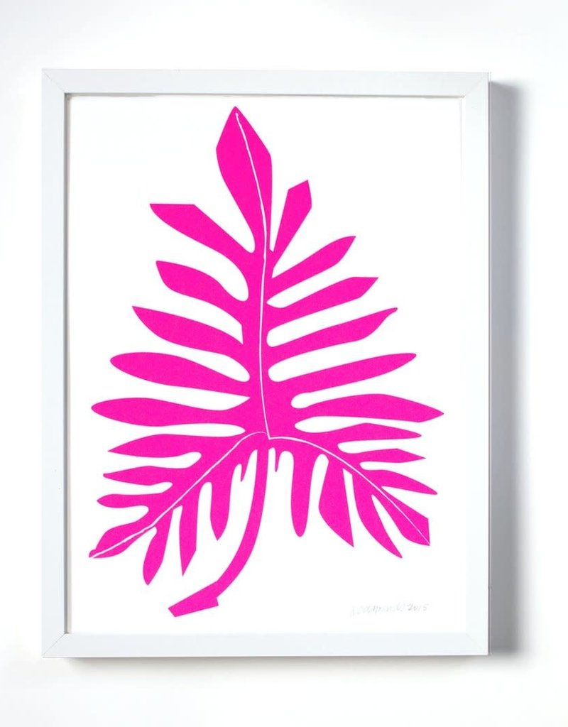 Banquet Atelier & Workshop Fluoro Philodendron - Poster
