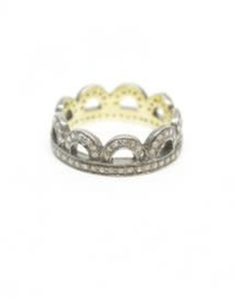 Himatsingka Lucie Arch Crown Diamond Ring