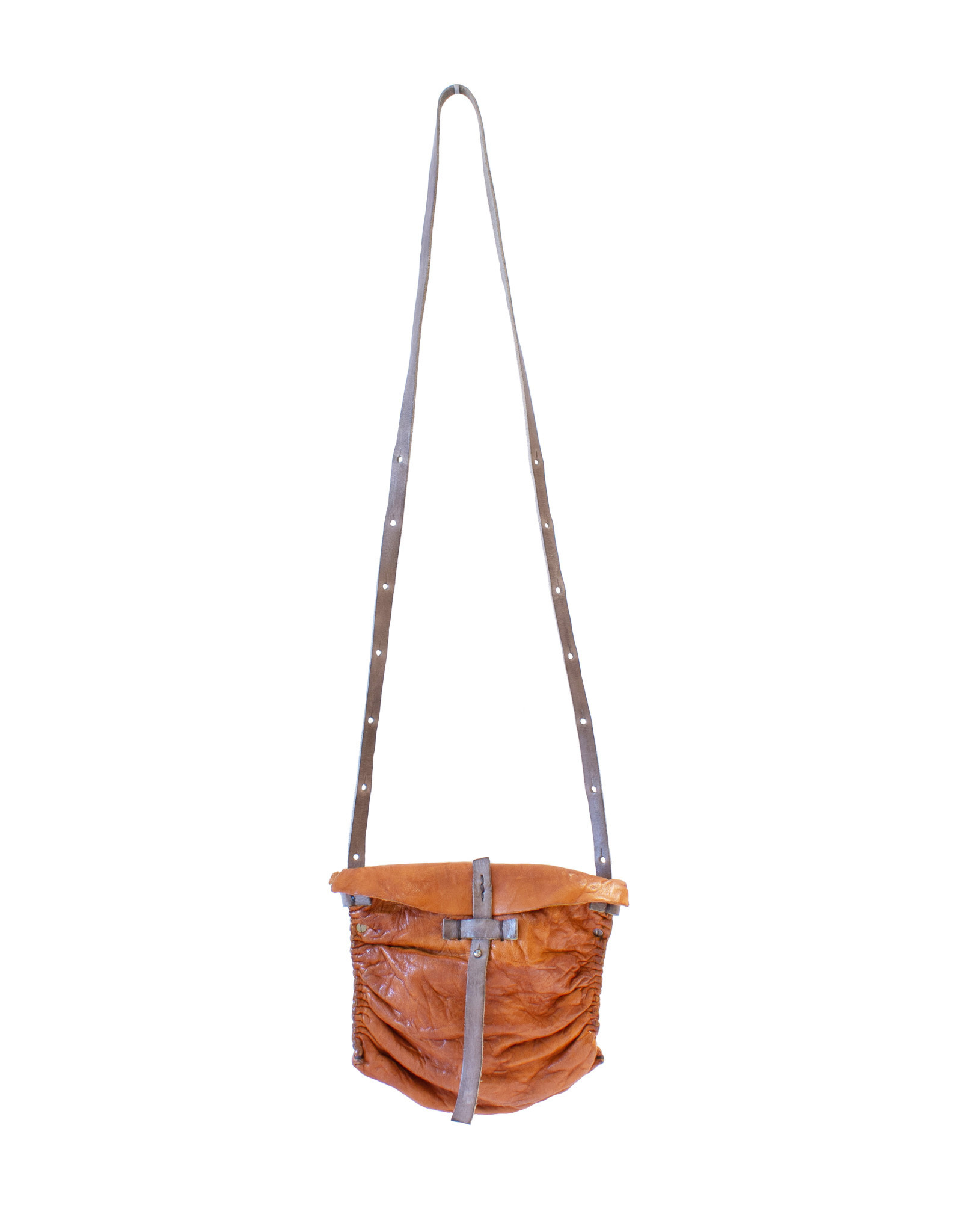 Engso Small, Gathered Crossbody - Tan