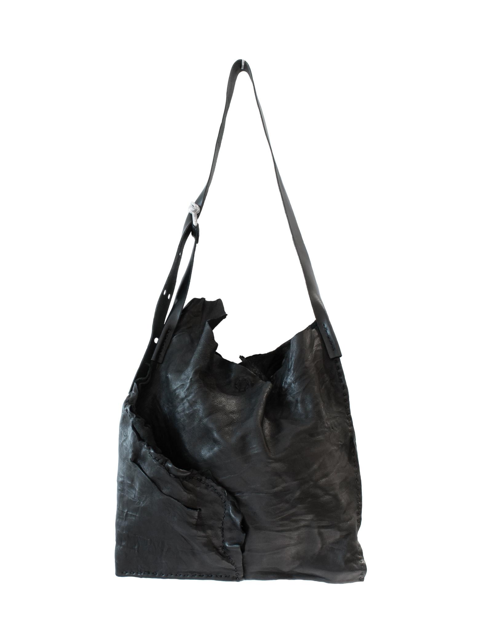Engso Large, Folded One-Piece Bag - Black + Black