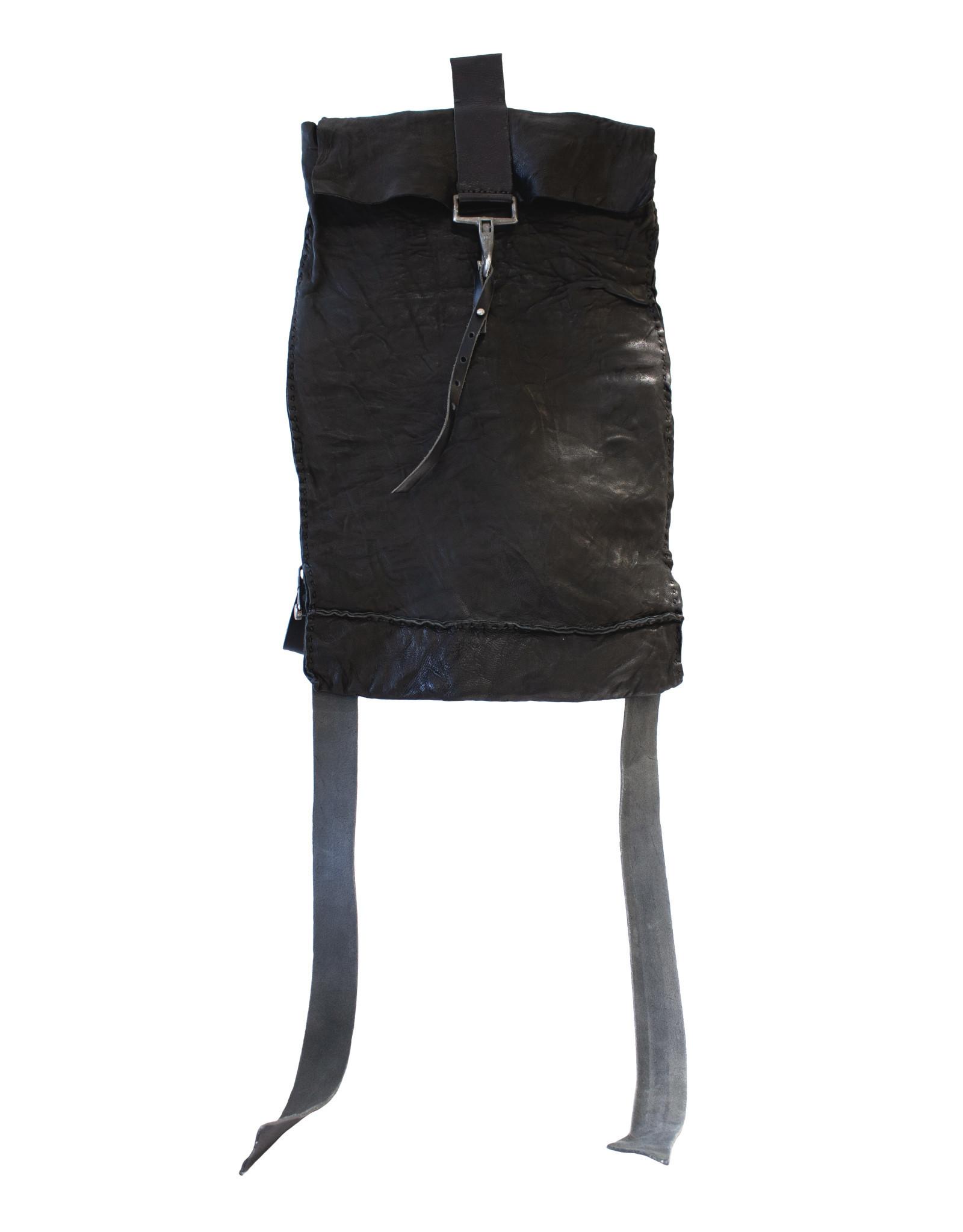 Engso Black, Folded One-Piece Back Pack - Large
