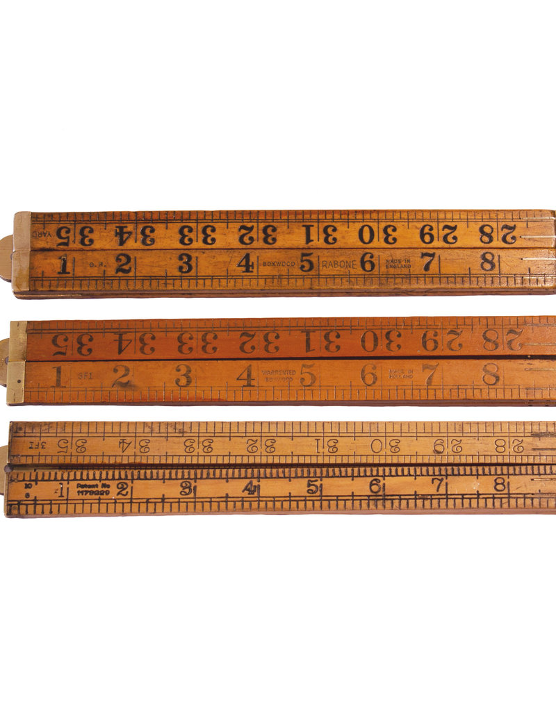 Antique Folding Ruler - Large (~1900)