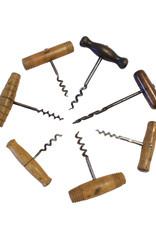 Antique Wooden Corkscrew (~1900)