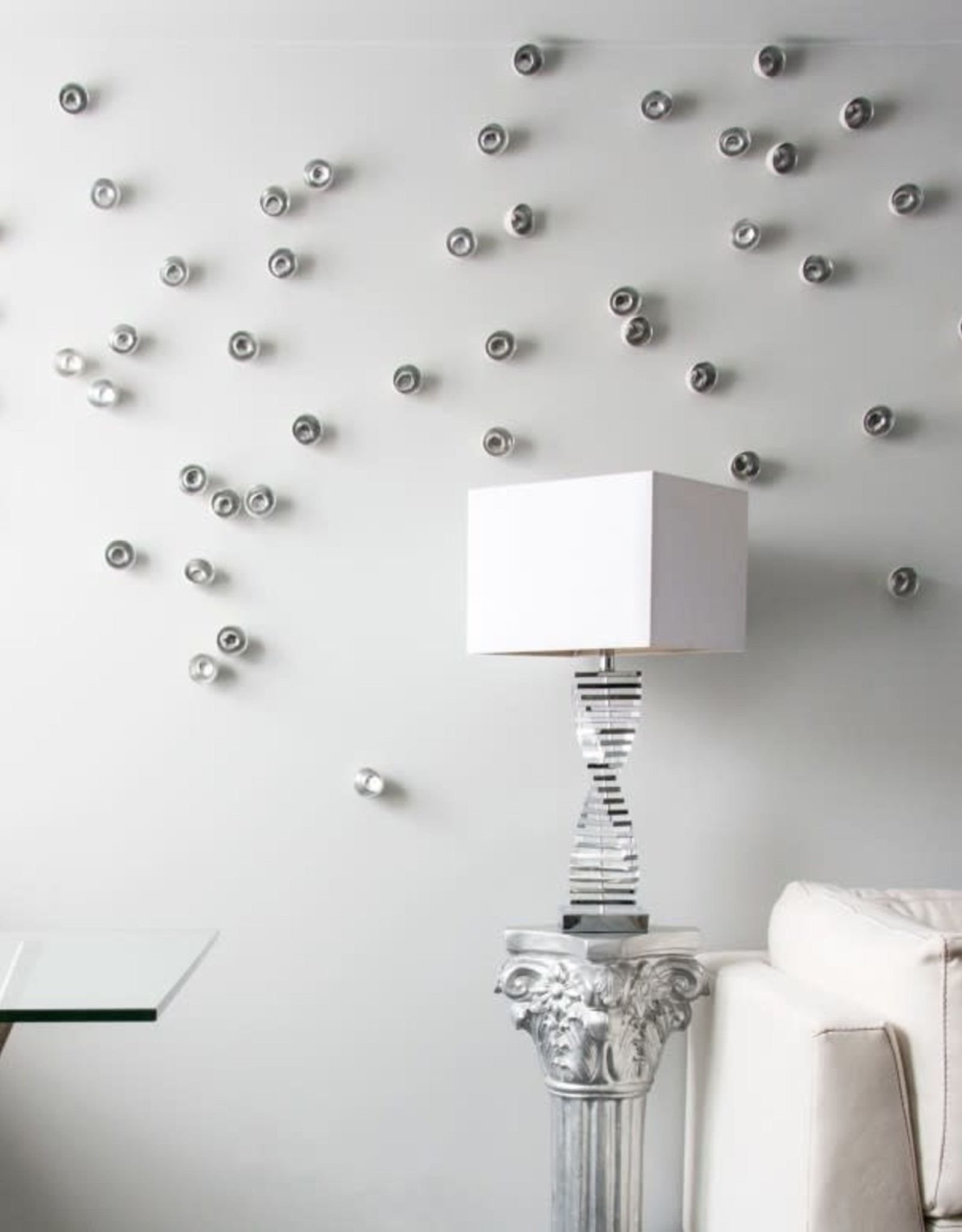 Gold Leaf Design Group Wall Play Seed - Silver