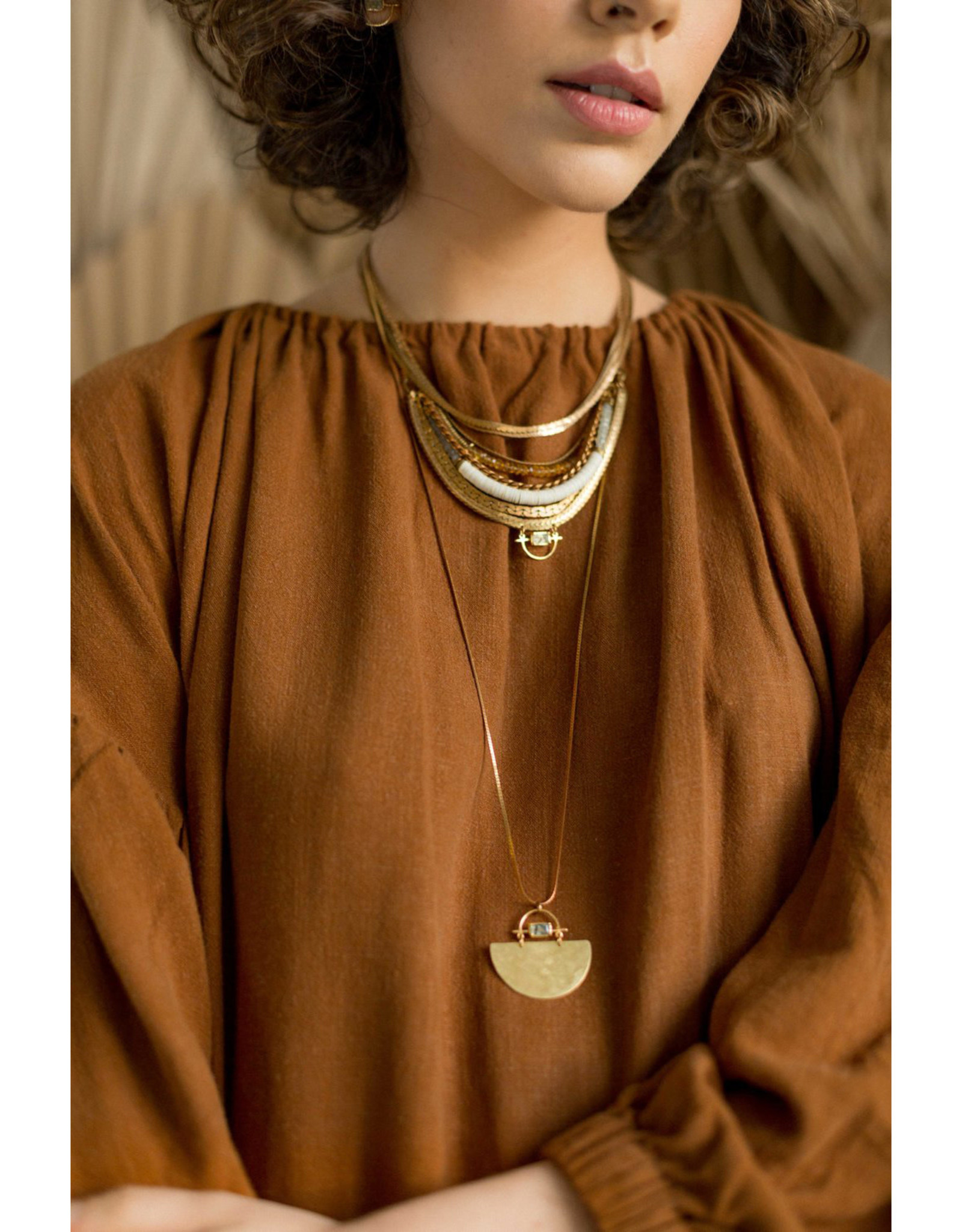 Hailey Gerrits Designs Mixed Chain Necklace