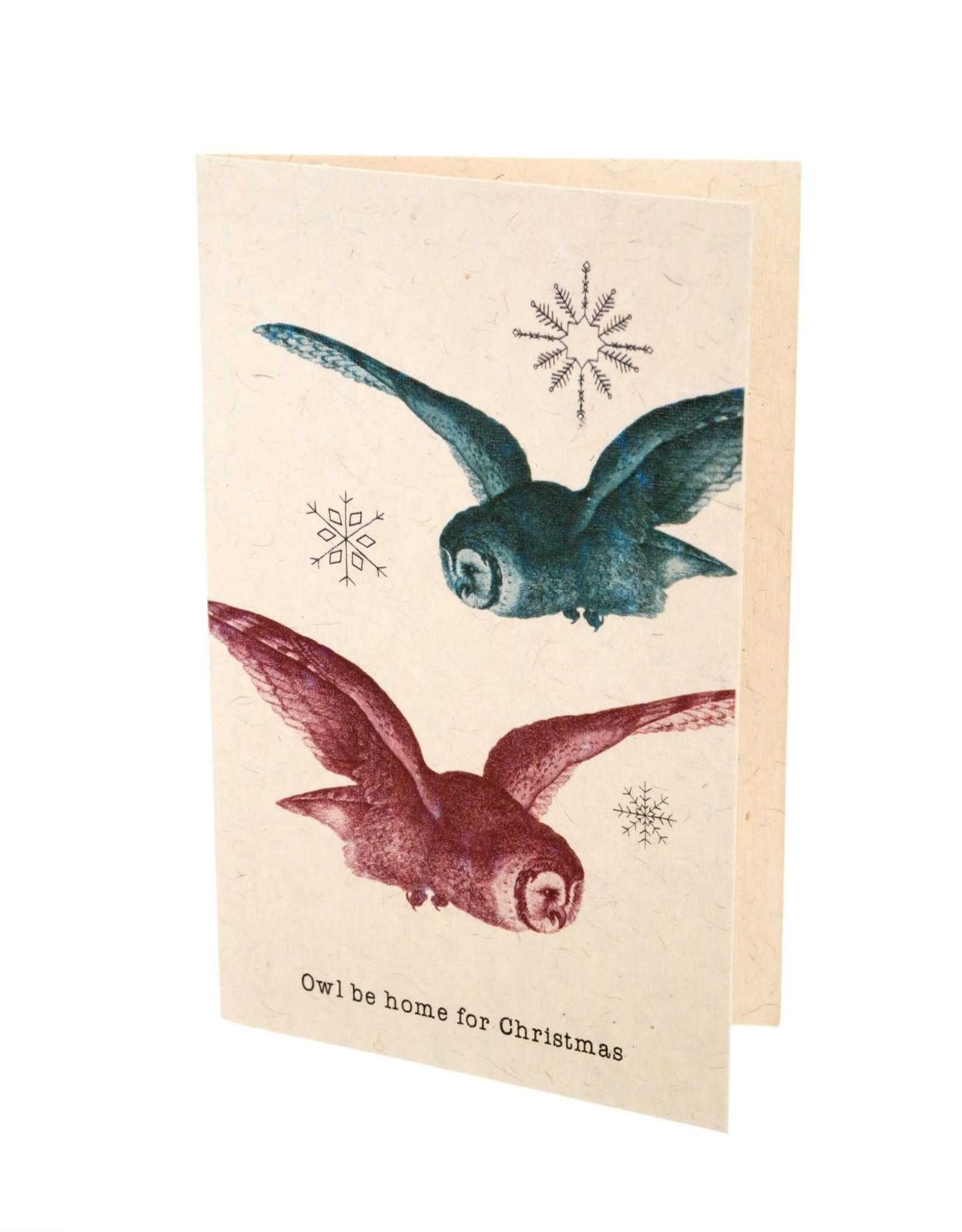 """""""Owl Be Home"""" Card"""