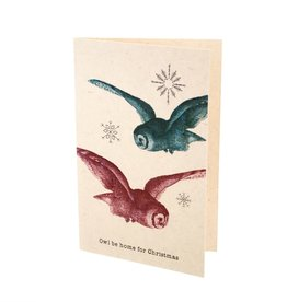 """Indaba """"Owl Be Home"""" Card"""