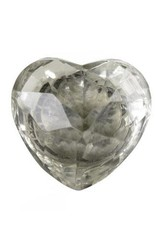 Indaba Vintage Glass Knob - Heart