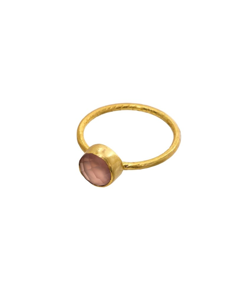 Cultivar Ring - Rose Chalcedony - 8
