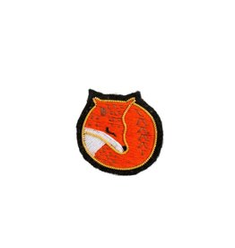 """Fox"" Patch Pin"