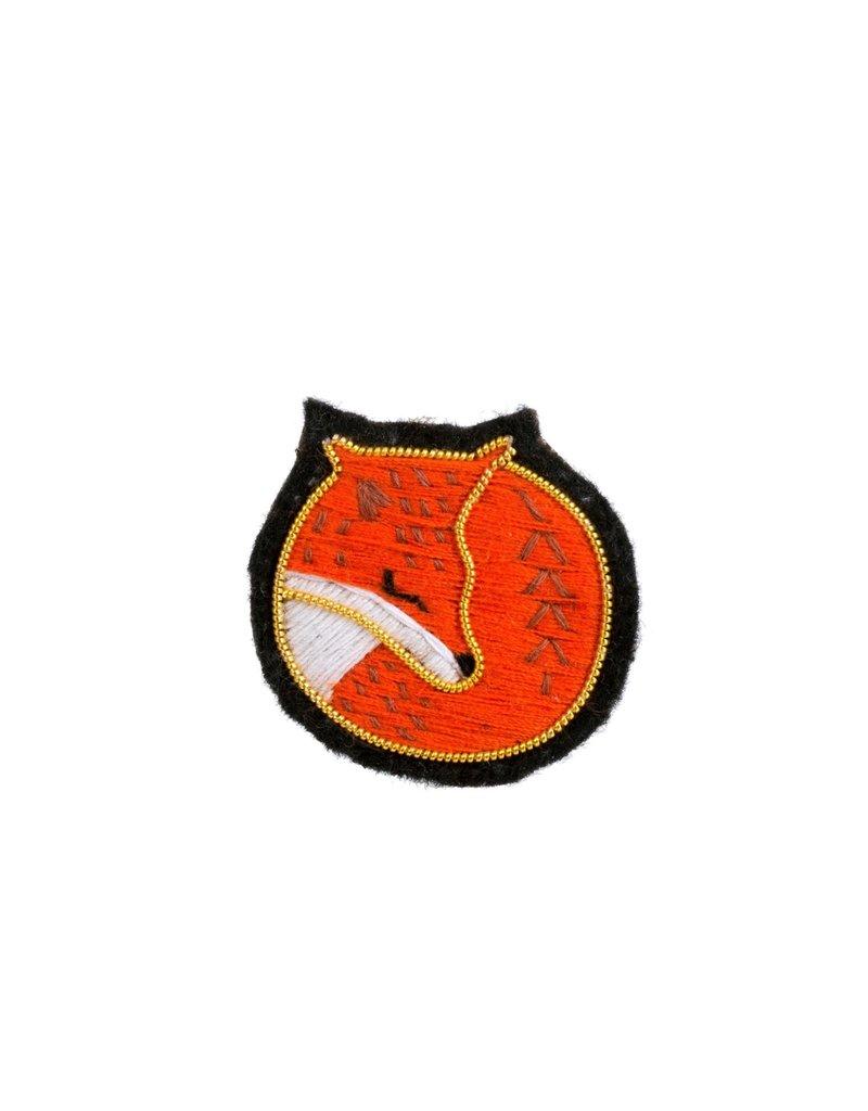 Fox Patch Pin