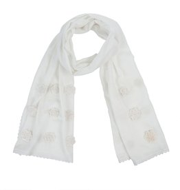 Lillianne Scarf - White