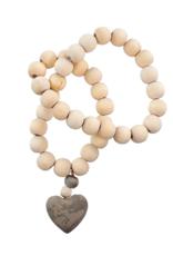 Indaba Heart Prayer Beads - Small