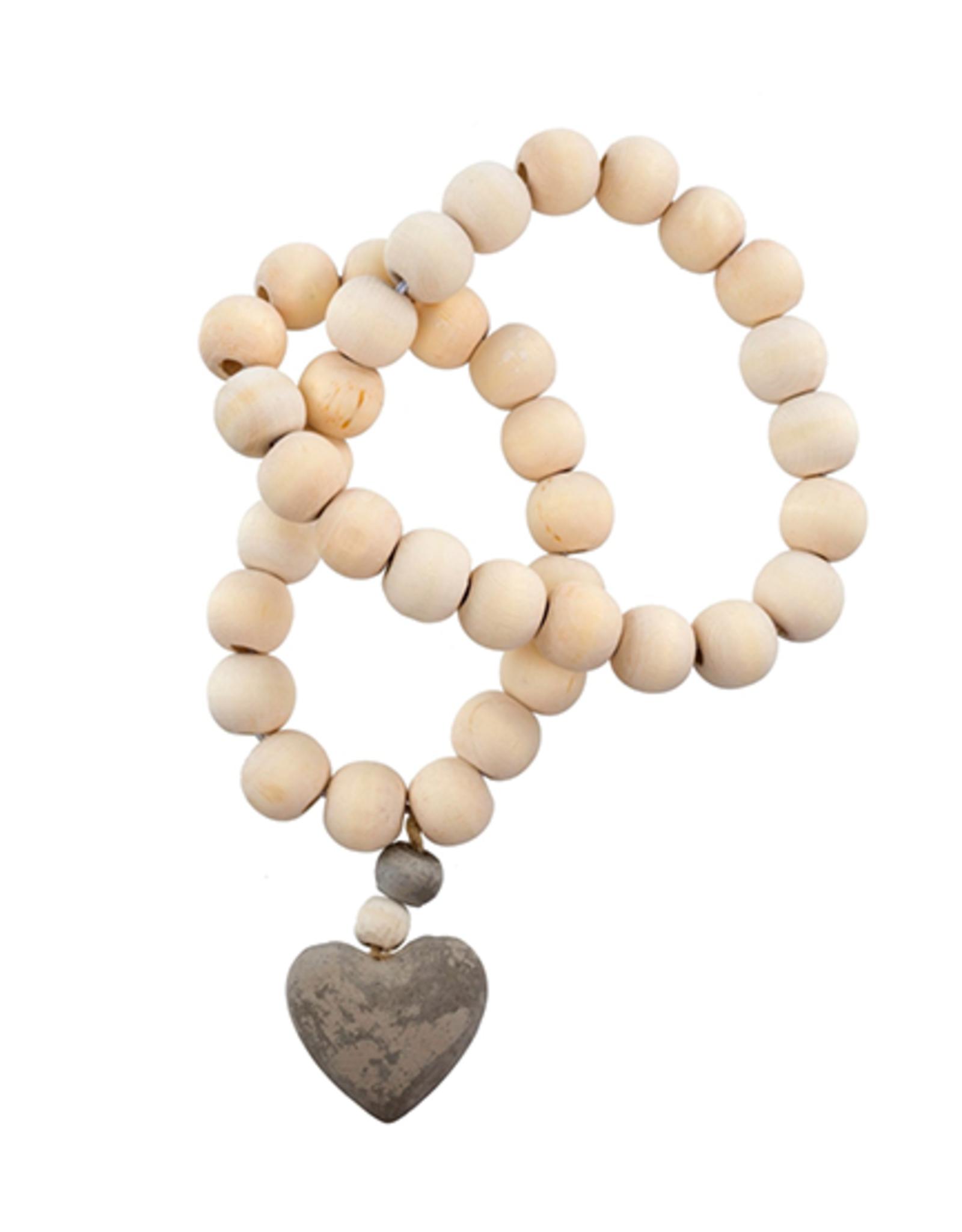 Heart Prayer Beads - Small