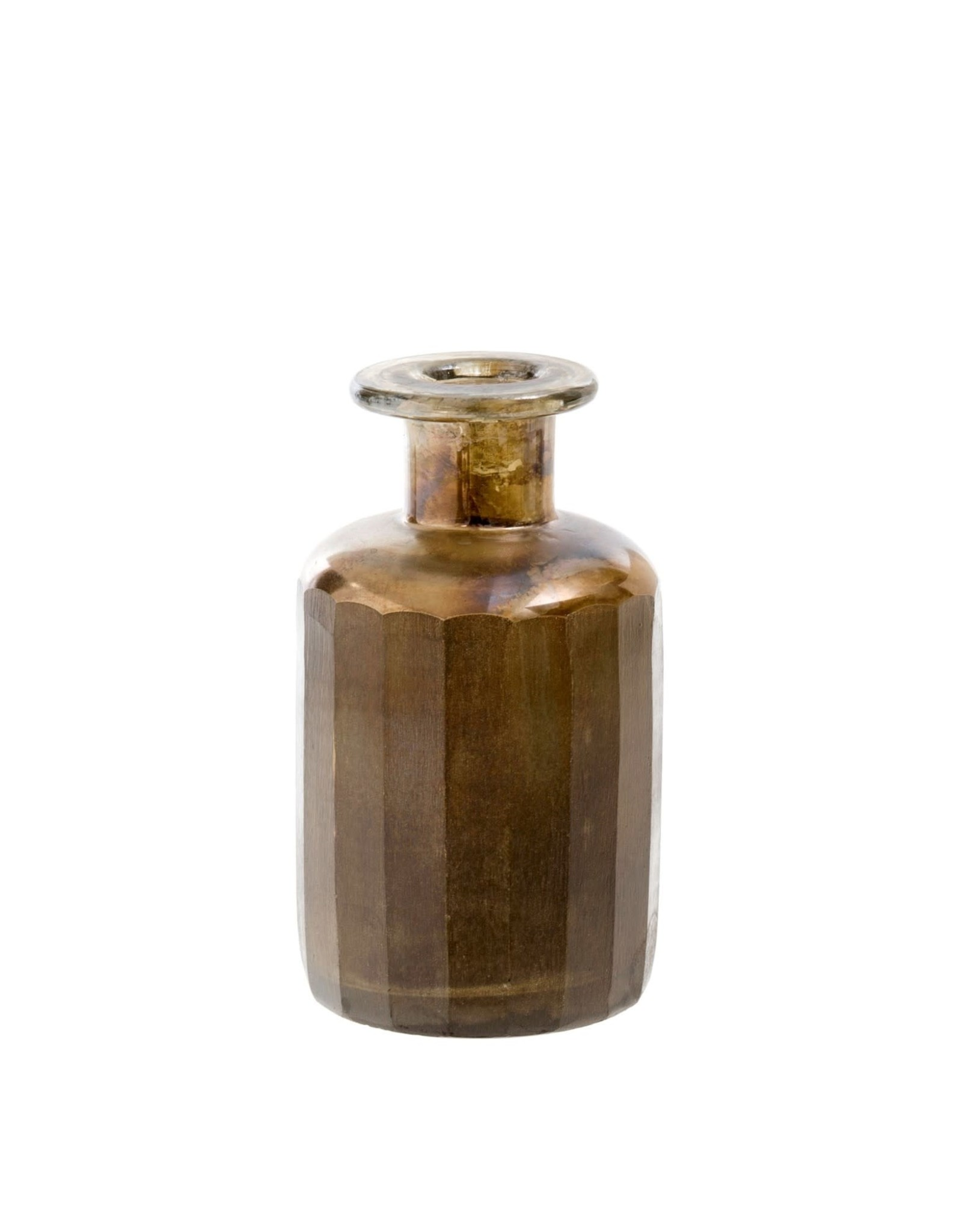 Indaba Mara Matte Bottle - Metallic
