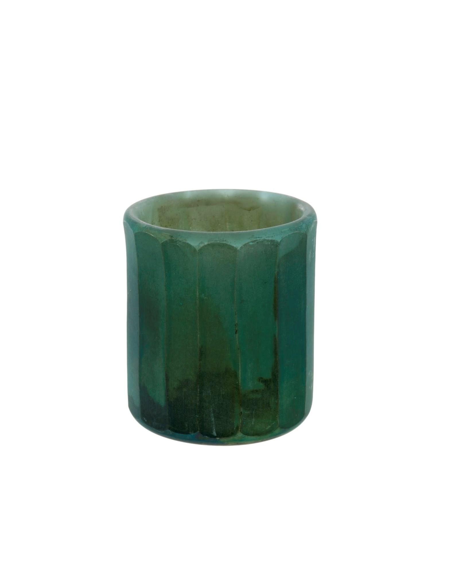 Indaba Mara Matte Cylinder - Turquoise