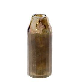 Indaba Mara Matte Vase - Metallic