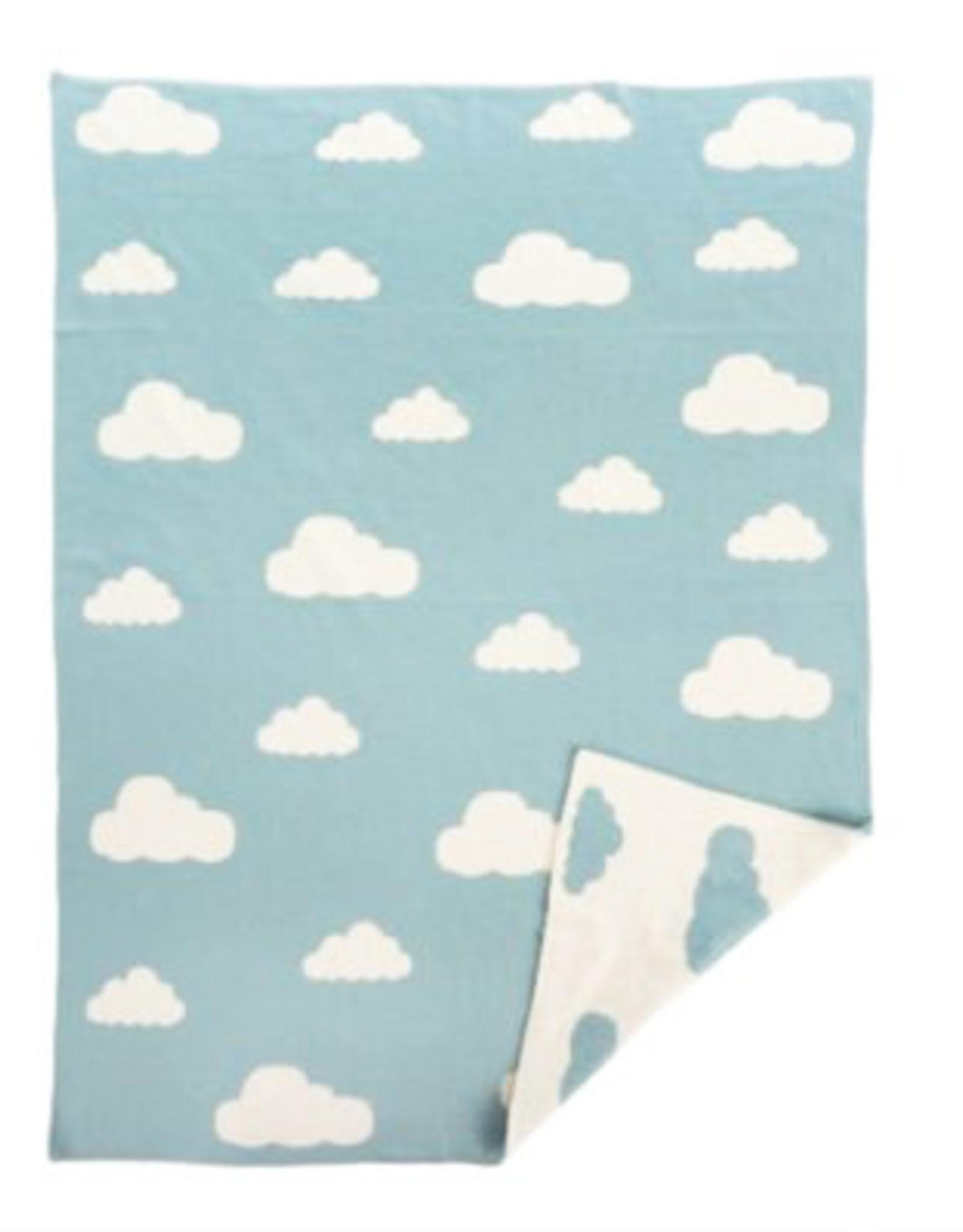 Cloudy Skies Baby Blanket