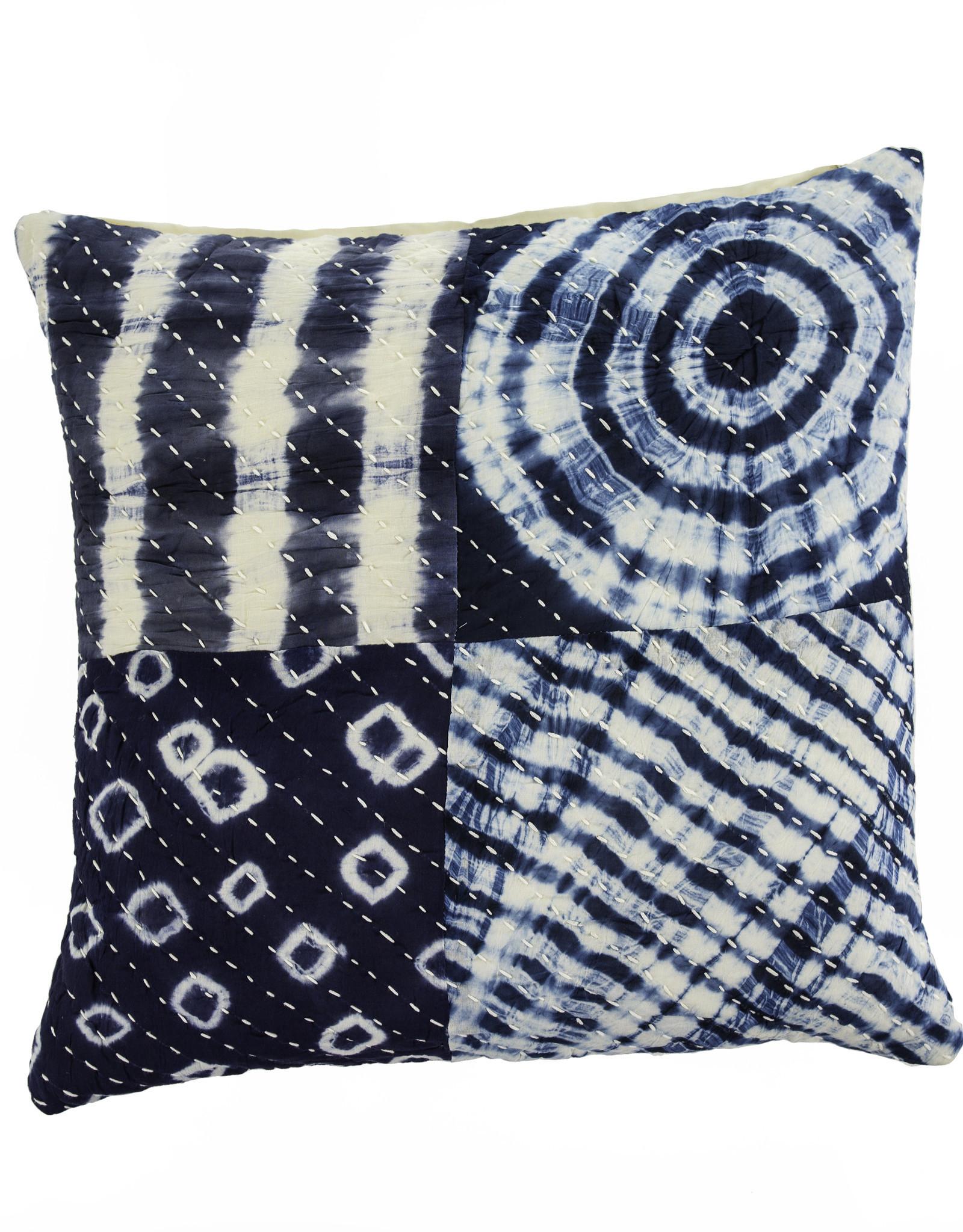 Indaba Tye Dye Patch Pillow