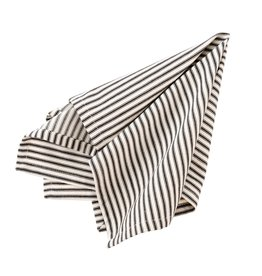 Indaba Black Ticking Napkins - Set of 4
