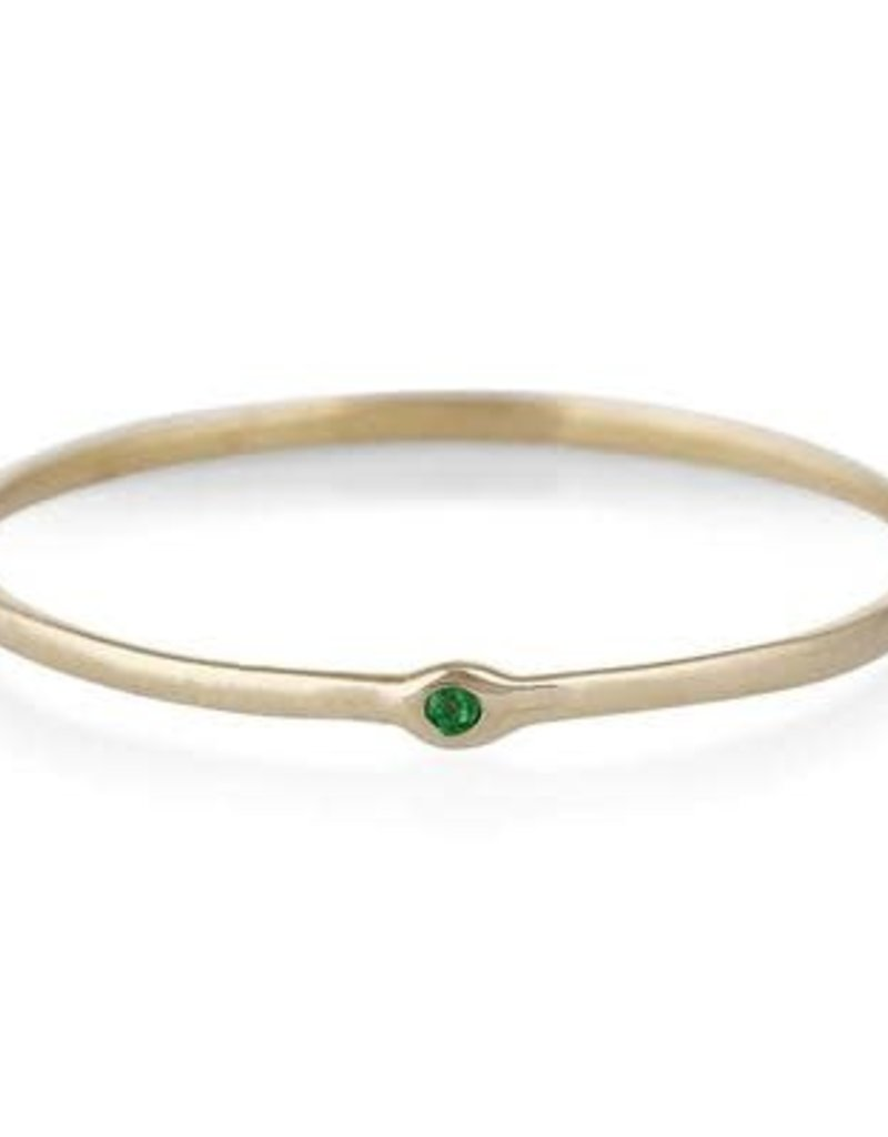 Scosha Memory Ring - Emerald