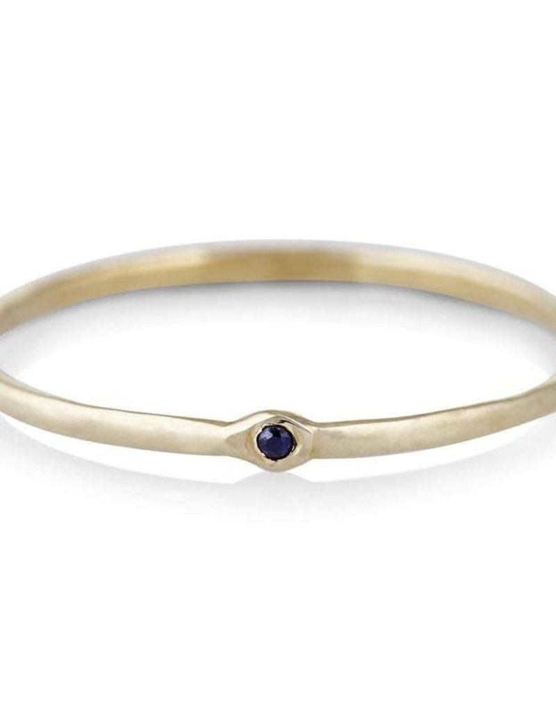 Scosha Memory Ring - Blue Sapphire