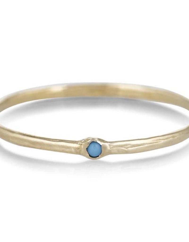 Scosha Memory Ring - Turquoise