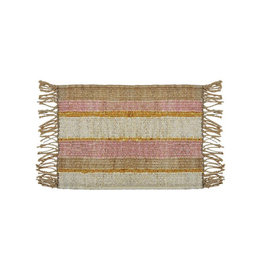 Langdon Ltd. Peachy Stripe Mat