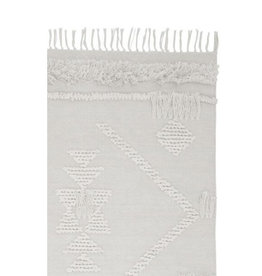 Langdon Ltd. Fringe Rug - White