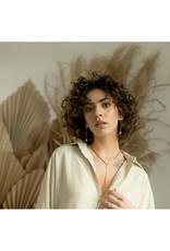 Hailey Gerrits Designs Reed Earrings - Rose Quartz