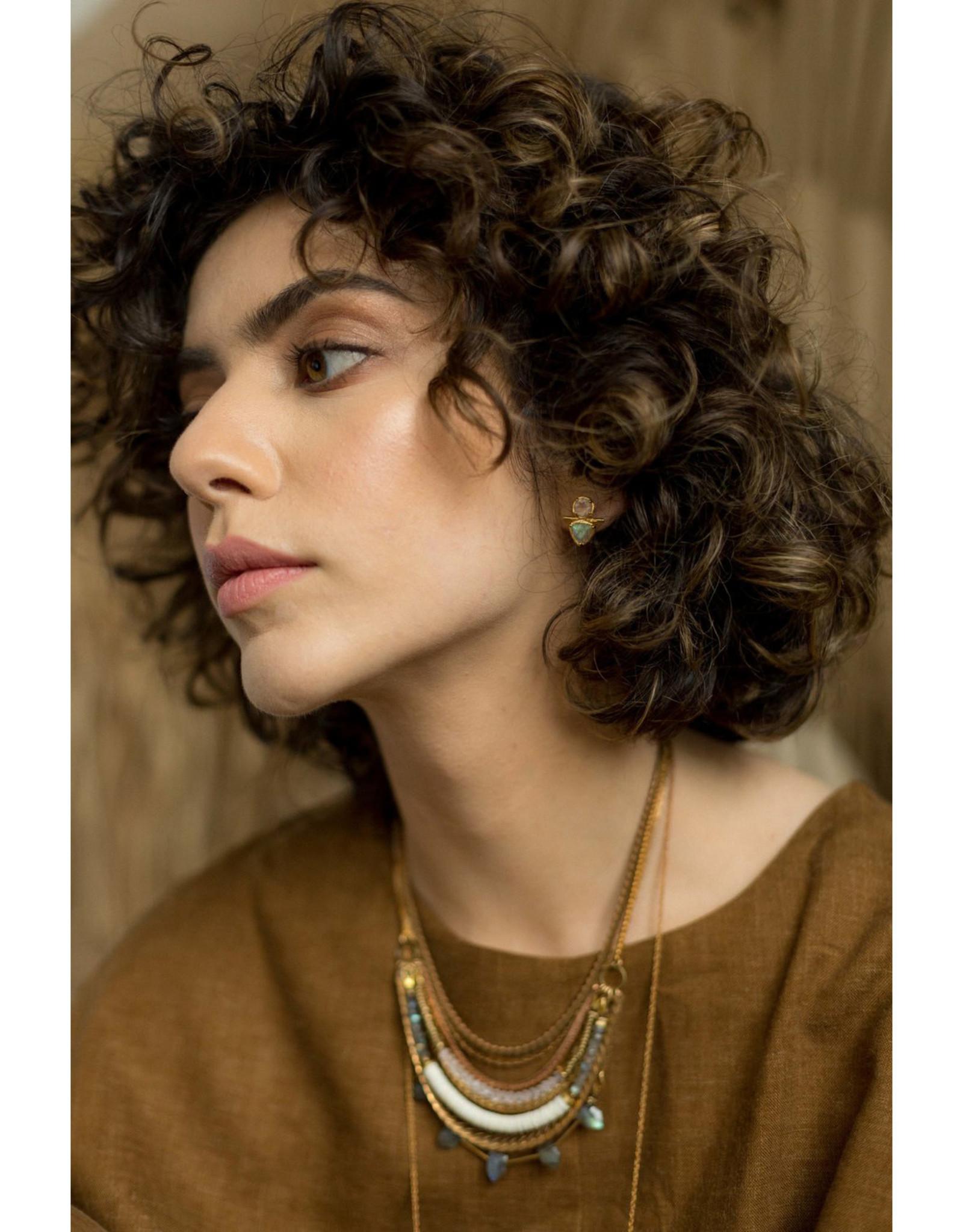 Hailey Gerrits Designs Seteria Necklace - Labradorite