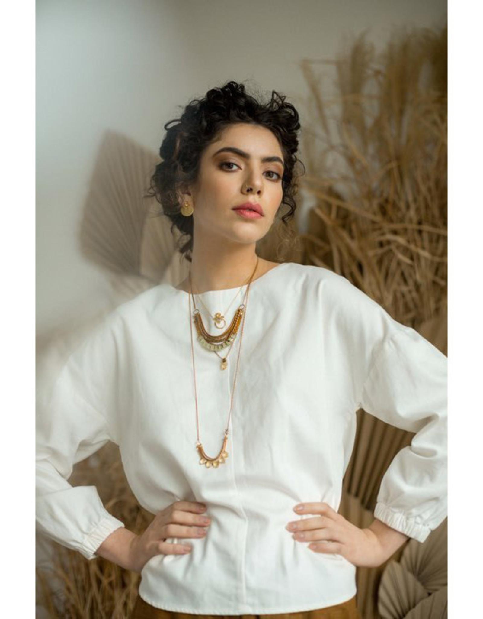 Hailey Gerrits Designs Avena Necklace - Citrine