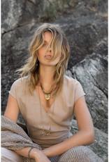 Hailey Gerrits Designs Laurel Necklace - Chocolate Moonstone