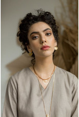 Hailey Gerrits Designs Meridian Earrings - Rose Quartz