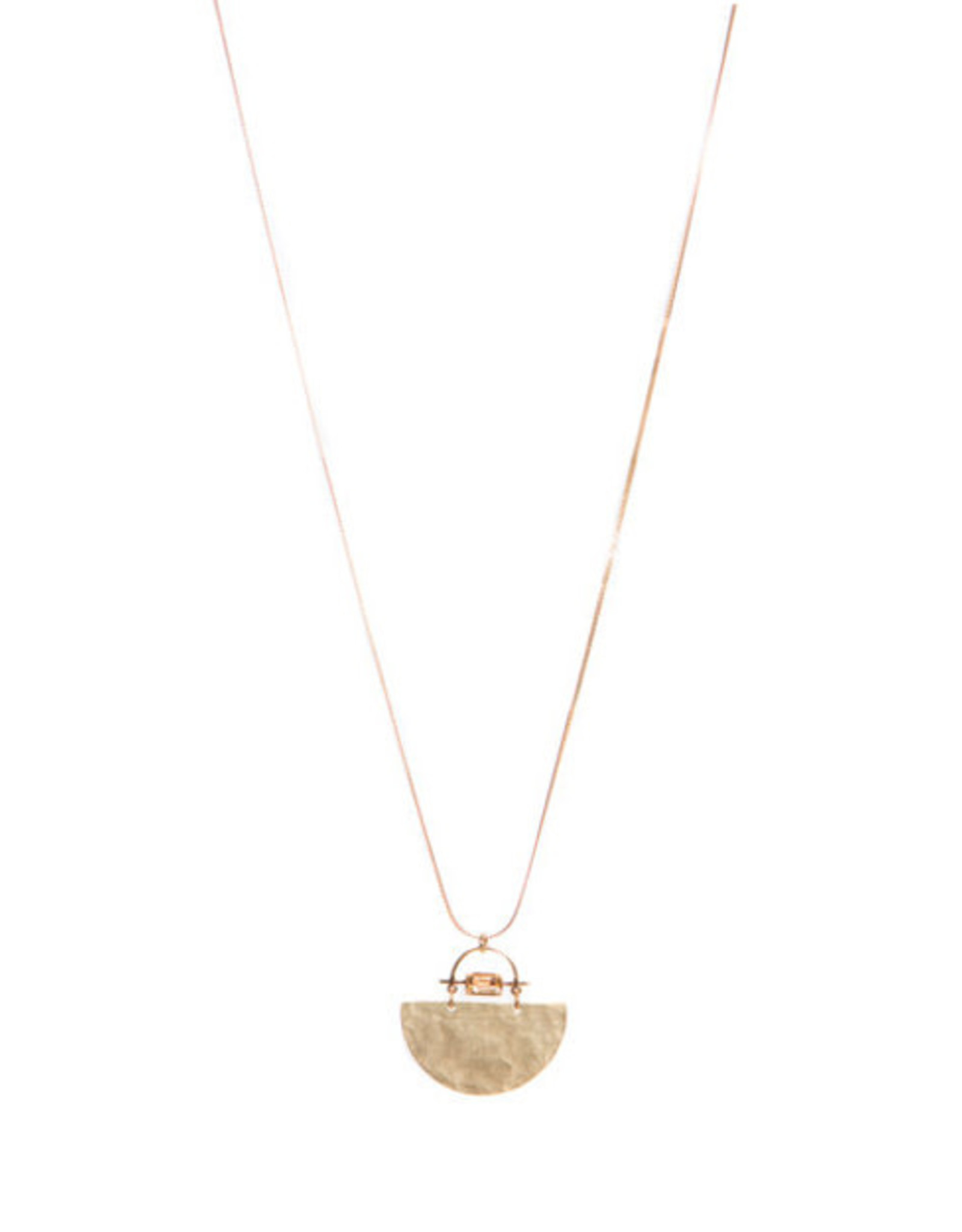 Hailey Gerrits Designs Meridian Necklace - Citrine