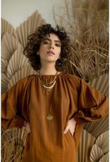 Hailey Gerrits Designs Pampas Necklace - Prehnite