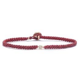 Scosha Classic Diamond Bracelet - Red + Scarlet Fleck
