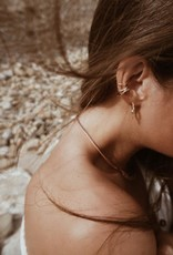 Scosha Classic Silver Ear Cuff