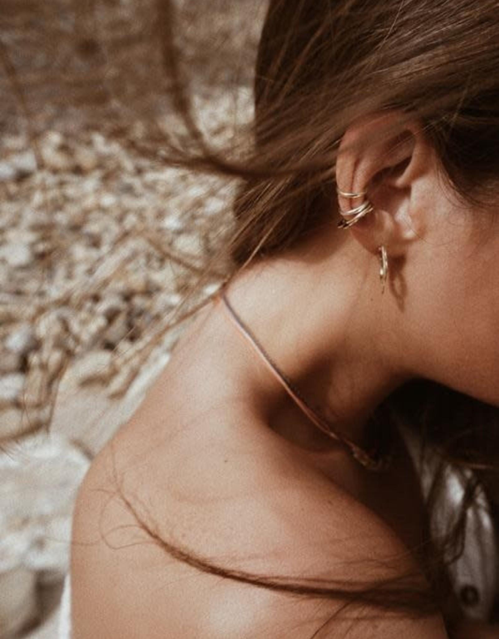 Scosha Silver Ear Cuff