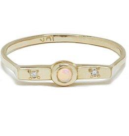 Scosha Wish Band - Opal + Diamonds