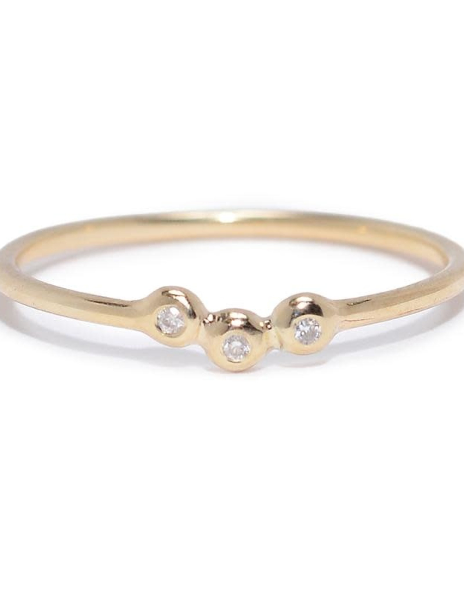 Scosha Trio Cluster Ring - Diamonds