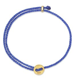 Scosha Signature Brass Slider Bracelet - Royal Blue