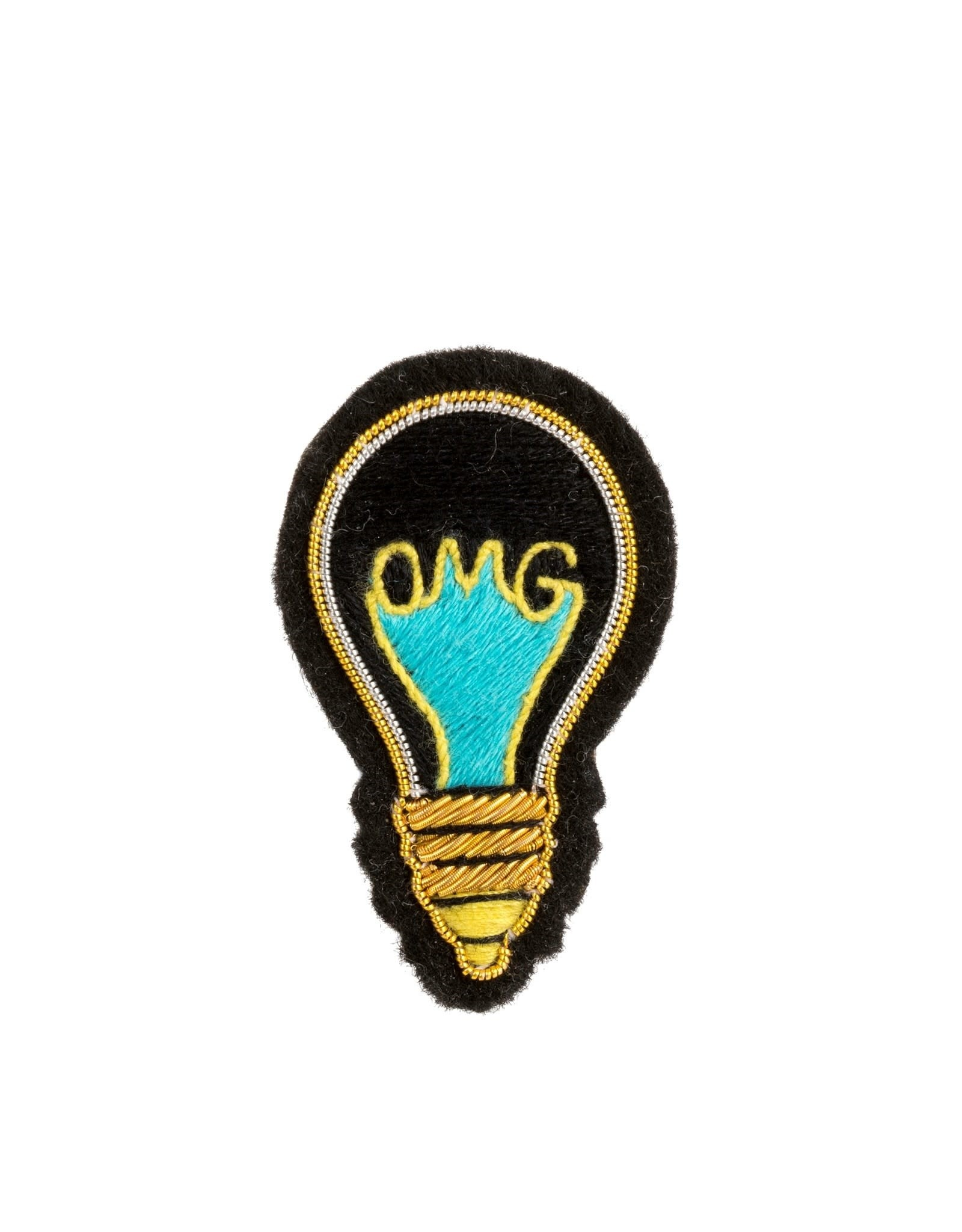"Indaba ""Light Bulb"" Patch Pin"