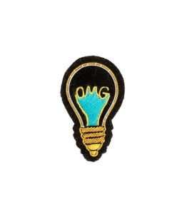 """Light Bulb"" Patch Pin"
