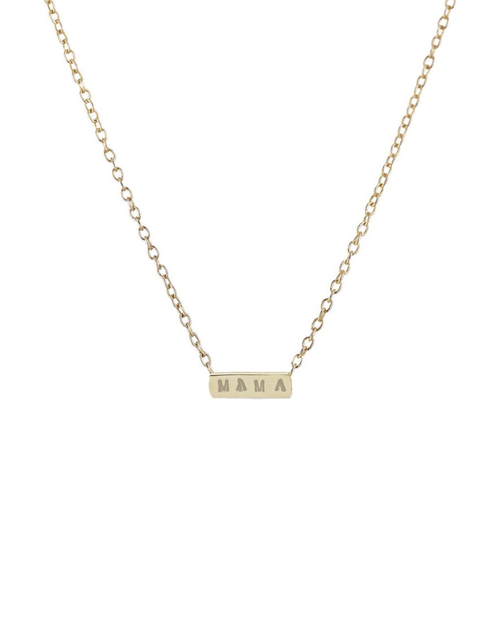 Scosha 'MAMA' Necklace - Gold
