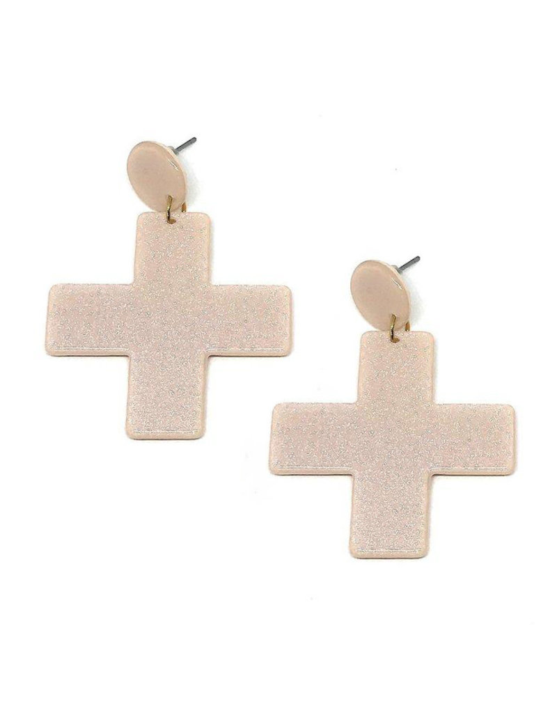 Vayu Jewels Yuma Earrings - Blush