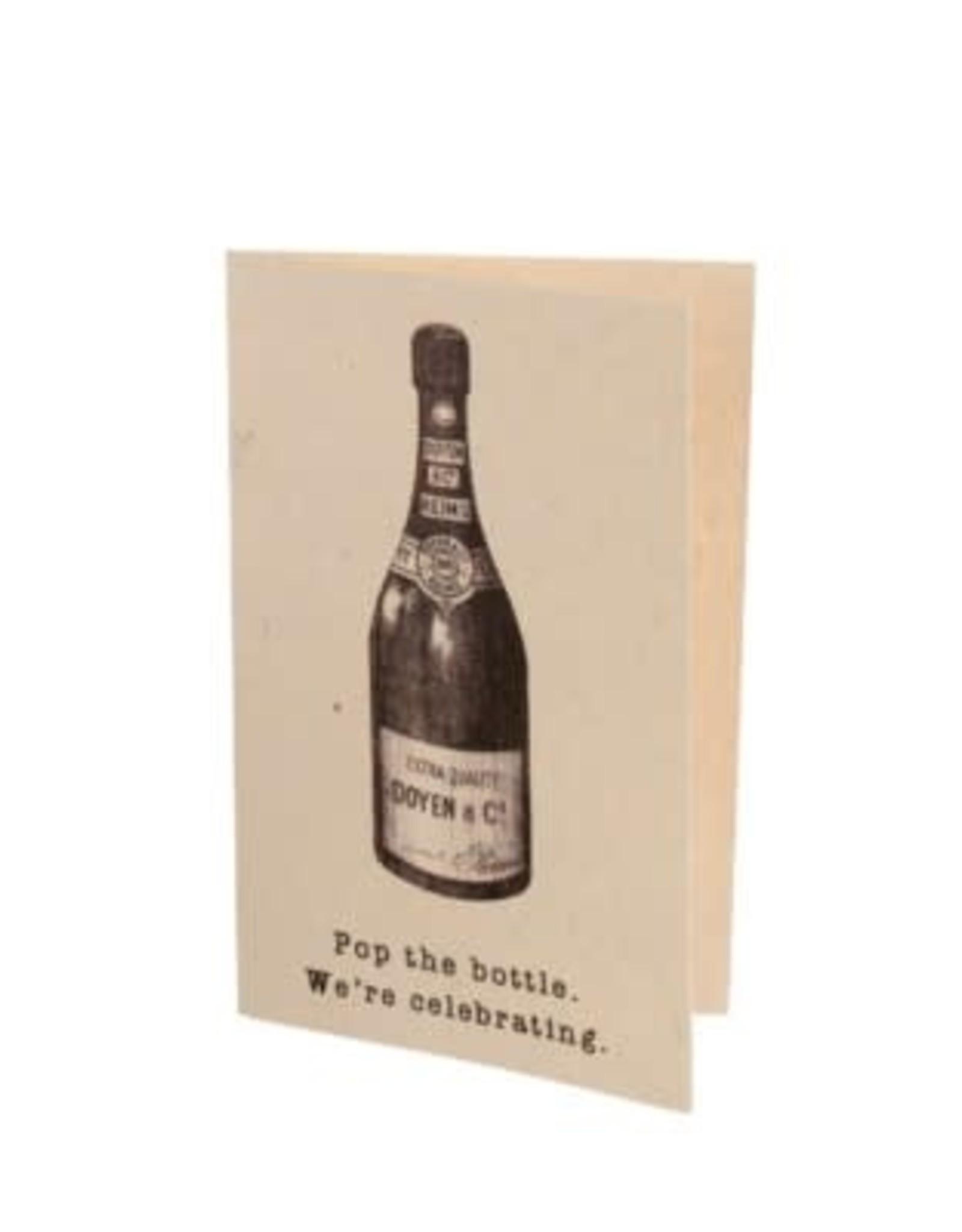 "Indaba ""Pop The Bottle"" Card"
