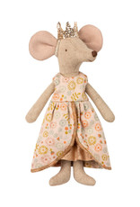 Maileg Queen Outfit - Peach Floral Dress