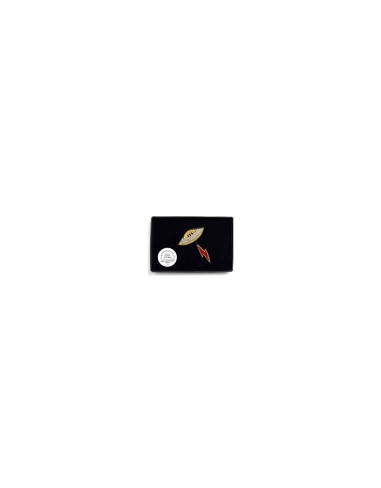Macon & Lesquoy 'Spaceship' Pin