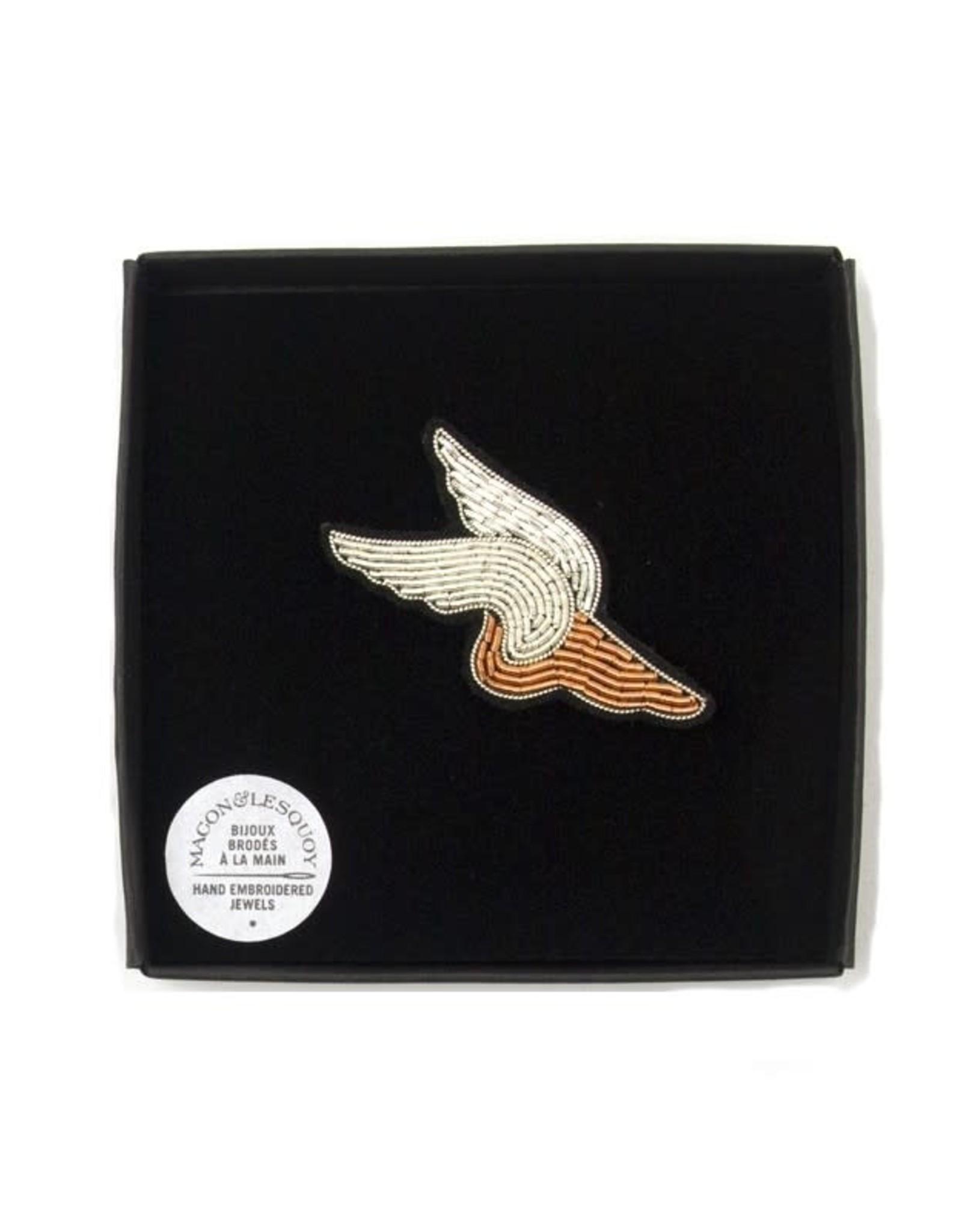 Macon & Lesquoy 'Hermes' Pin
